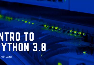 Intro to Python 3.8